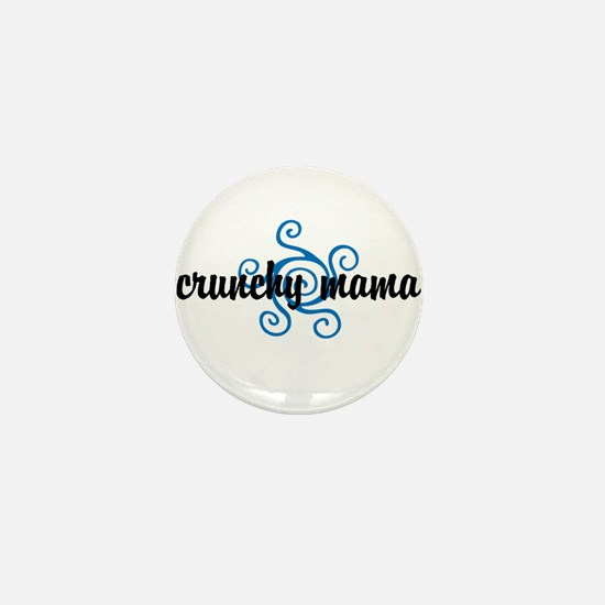 Crunchy mama Mini Button