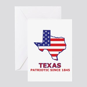 Texas independence day greeting cards cafepress tx usa flag map 2 greeting card m4hsunfo