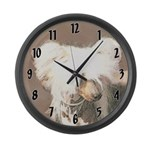 Chinese Crested (Hairless) Large Wall Clock