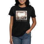 Chinese Crested (Hairless) Women's Dark T-Shirt