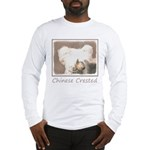 Chinese Crested (Hairless) Long Sleeve T-Shirt