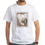 Chinese Crested (Hairless) White T-Shirt