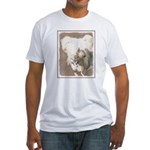Chinese Crested (Hairless) Fitted T-Shirt