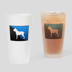 Cane Corso Drinking Glass