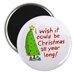I wish it could be Christmas Magnet