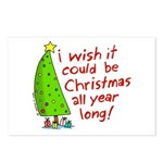I wish it could be Christmas Postcards (Package of