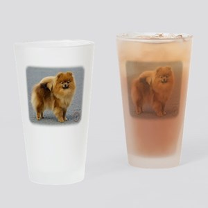 Pomeranian 9R042D-22 Drinking Glass