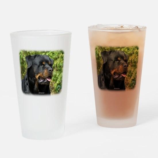 Rottweiler 9R047D-052 Drinking Glass