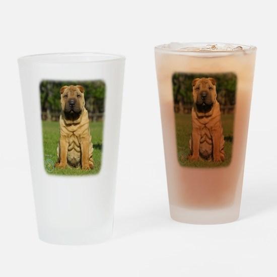 Shar Pei 9M100D-049 Drinking Glass