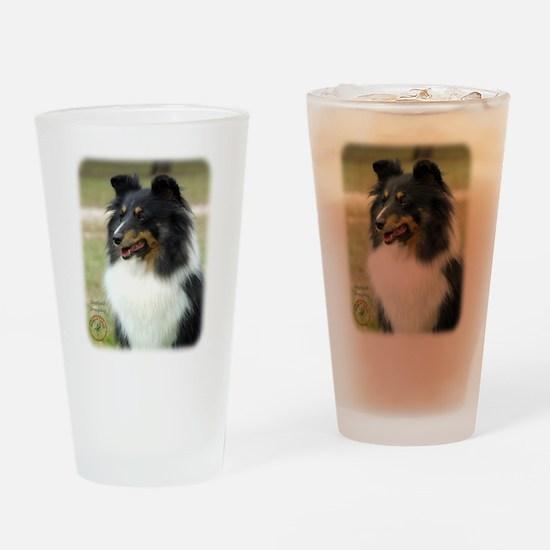 Shetland Sheepdog 9J090D-04 Drinking Glass