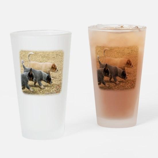 Australian Cattle Dog 8T57D-1 Drinking Glass