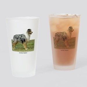 Australian Shepherd 9K7D-20 Drinking Glass