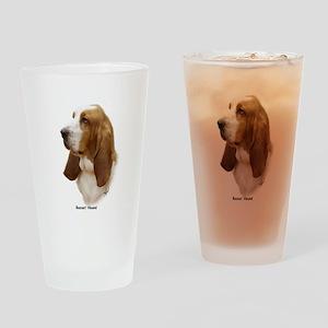Basset Hound 9J055D-15 Drinking Glass