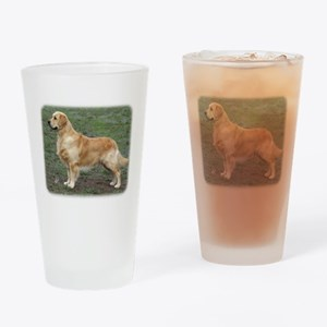 Golden Retriever 9Y186D-072 Drinking Glass