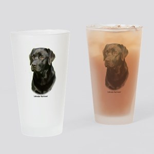 Labrador Retriever 9A054D-23a Drinking Glass