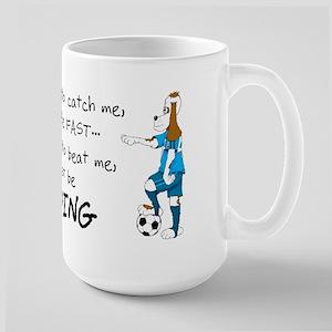 Soccer Dog Large Mug
