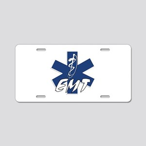 EMT Active Aluminum License Plate