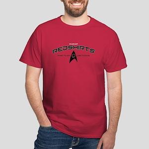 Starfleet Red Shirts Dark T-Shirt