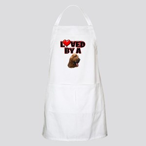 Loved by a Bloodhound Apron