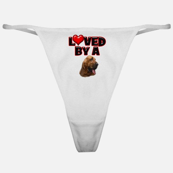 Loved by a Bloodhound Classic Thong