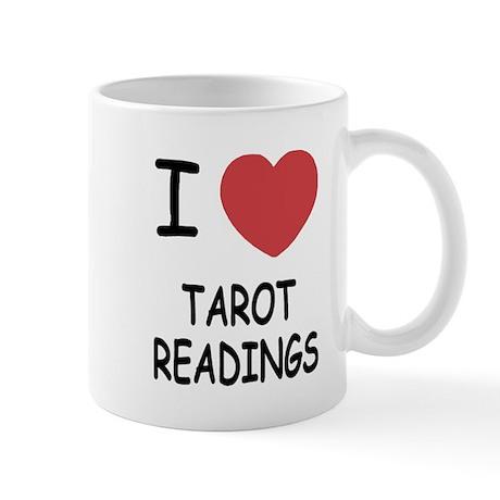 I heart tarot readings Mug