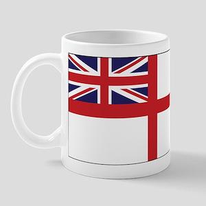 United Kingdom Naval Ensign Mug