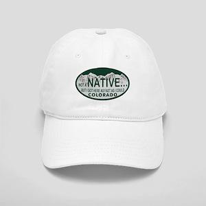 Not a Native Colo License Plate Cap