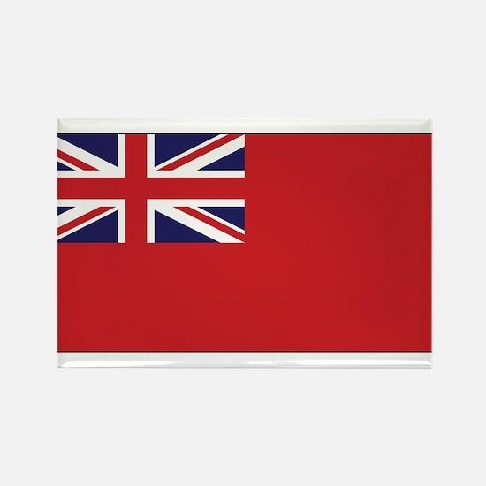 United Kingdom Civil Ensign Rectangle Magnet