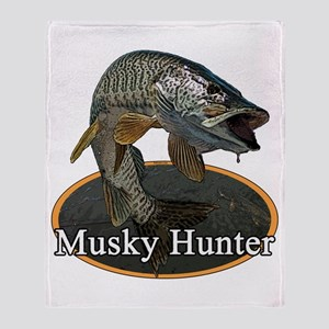 Musky, 6 Throw Blanket