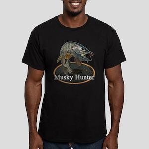 Musky, 6 Men's Fitted T-Shirt (dark)