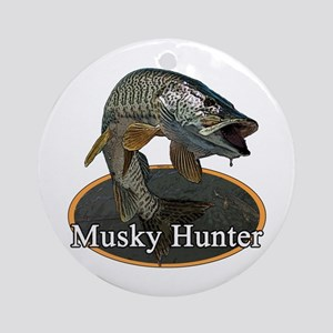 Musky, 6 Ornament (Round)