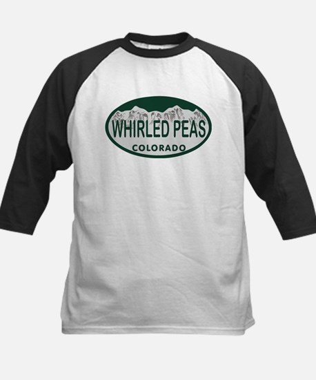 Whirled Peas Colo License Plate Kids Baseball Jers
