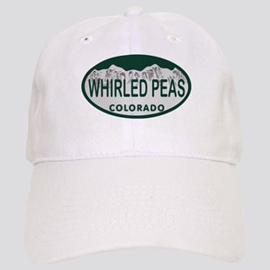 Whirled Peas Colo License Plate Cap