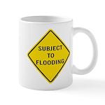 Caution Subject to Flooding Mug