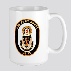 USS Port Royal CG 73 Large Mug