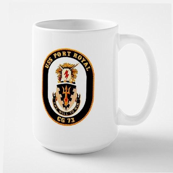 USS Port Royal CG 73 Large Mug