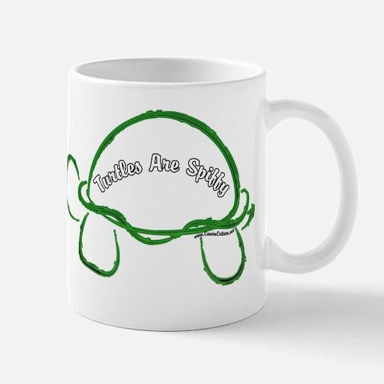 Turtles Are Spiffy Mug