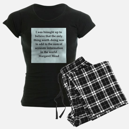 Margaret Mead quotes Pajamas