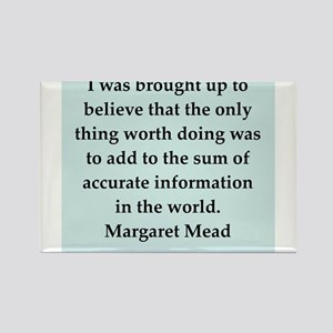 Margaret Mead quotes Rectangle Magnet