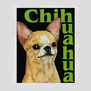 Urban Smooth Chihuahua Throw Blanket