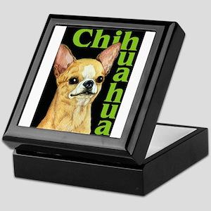 Urban Smooth Chihuahua Keepsake Box