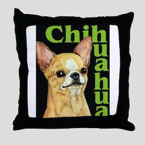Urban Smooth Chihuahua Throw Pillow