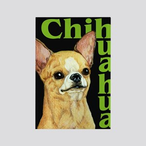 Urban Smooth Chihuahua Rectangle Magnet