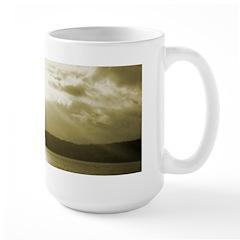 Puget Sound Sunset - Large Mug
