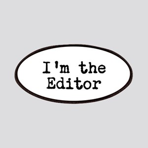I'm the editor Patches