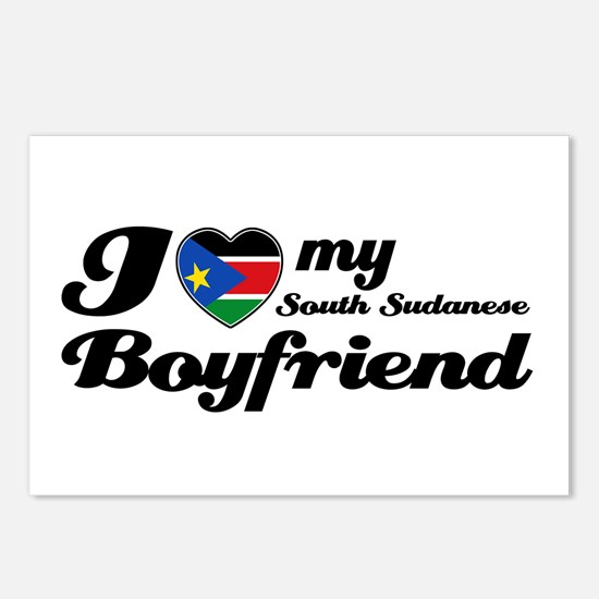 I love my South Sudanese Boy Postcards (Package of
