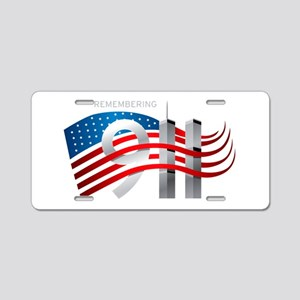 Remembering 911 Aluminum License Plate