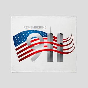 Remembering 911 Throw Blanket