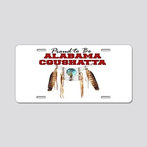 Proud to be Alabama-Coushat Aluminum License Plate