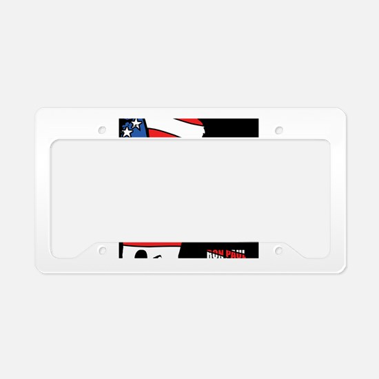 Ron Paul License Plate Holder